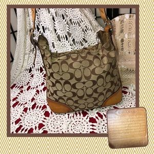 Coach NSK-6347 Crossbody Bag USED CONDITION